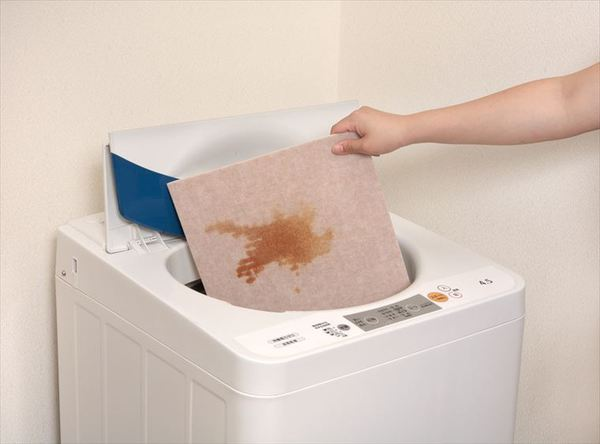 吸着バリアフリーマットは洗濯機OK!