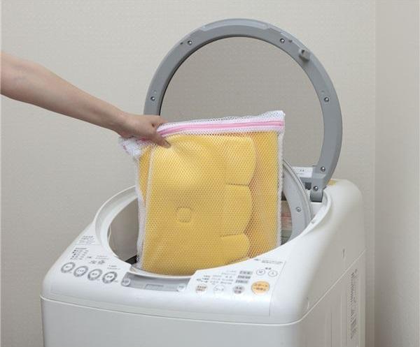 繰り返し洗濯機OK!のトイレマット